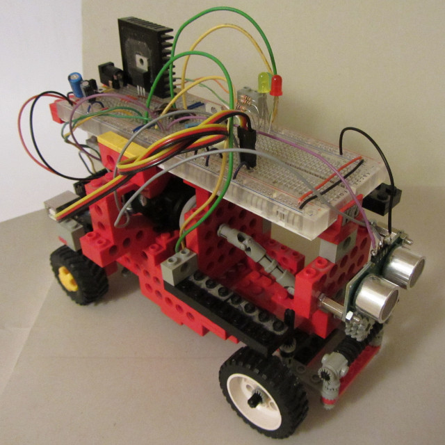 Arduino lego robot evita ostacoli obstacle avoidance